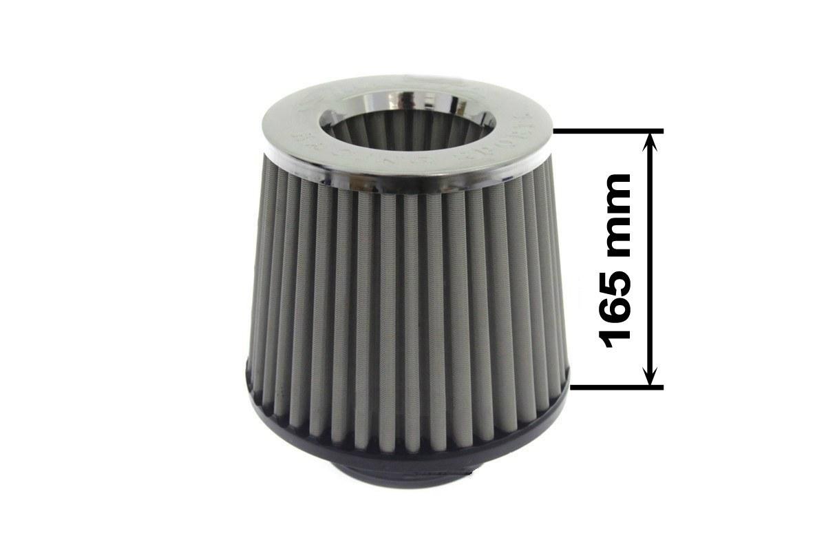 Filtr stożkowy SIMOTA JAU-D02502-18 60-77mm Stalowy - GRUBYGARAGE - Sklep Tuningowy